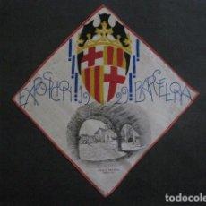 Coleccionismo: PAÑUELO PUBLICIDAD EXPOSICION 1929 BARCELONA -PUEBLO ESPAÑOL - VER FOTOS -(V- 11.652). Lote 90349924