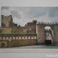 Collezionismo: LAMINA CASTILLOS DE ESPAÑA MONROY CACERES CASTILLO-17. Lote 244025355