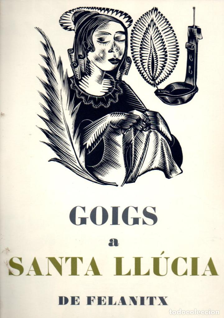 GOIGS A SANTA LLÚCIA DE FELANITX (1974) NUMERAT (Coleccionismo - Laminas, Programas y Otros Documentos)