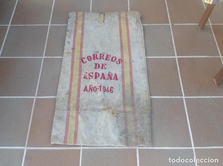 SACA O SACO DE CORREOS DE ESPAÑA AÑO 1946 SERVICIO AMBULANTE (Coleccionismo - Varios)
