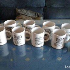 Coleccionismo: LOTE 11 TAZAS CON CHISTES DE FORGES (EN PERFECTO ESTADO). Lote 92288005