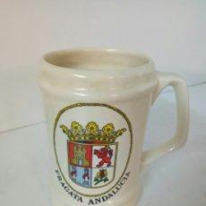 Coleccionismo: JARRA DE BARRO FRAGATA DE ANDALUCIA. Lote 262042200
