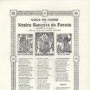 Coleccionismo: GOIGS EN HONRA DE NOSTRA SENYORA DE FARNÉS (1974). Lote 93151410