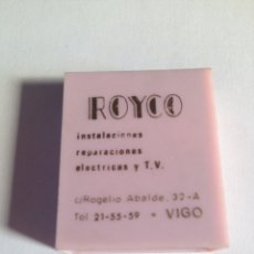 Coleccionismo: CAJA CERILLAS VIGO ROYCO. Lote 93270389