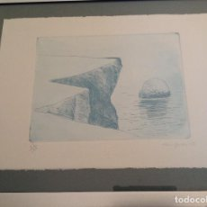 Coleccionismo: RARA LITOGRAFIA DEL PINTOR MALLORQUIN, RIERA FERRARI. Lote 94062395