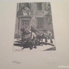 Coleccionismo: RARA LITOGRAFIA DE MORACHO. Lote 94063130