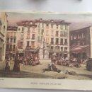 Coleccionismo: LAMINA MADRID PUERTA DEL SOL EN 1830 31,5X23 CM. Lote 94309184