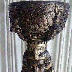 Coleccionismo: GRAN FIGURA DE DIOSA EGIPCIA. Lote 94475478