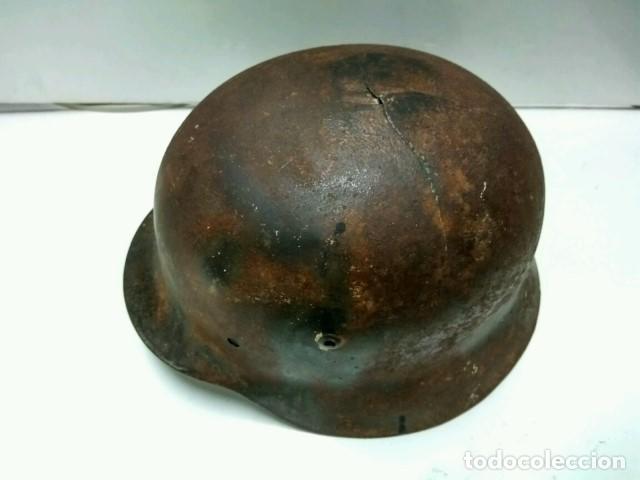 Coleccionismo: Cascos Segunda Guerra Mundial: CASCO ALEMAN M-35 100% Original - Foto 2 - 74618026
