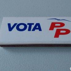 Coleccionismo: CERILLAS PARTIDO POLÍTICO. VOTA PP.. Lote 94645446