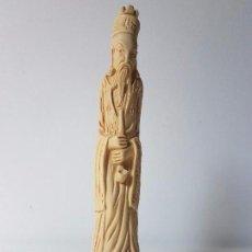 Coleccionismo: FIGURA CHINA EN YESO. Lote 95070235