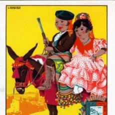 Coleccionismo: PROGRAMA FERIA DE MALAGA AÑO 1946 - VER FOTO ADICIONAL DE LA CONTRAPORTADA .. Lote 95297415