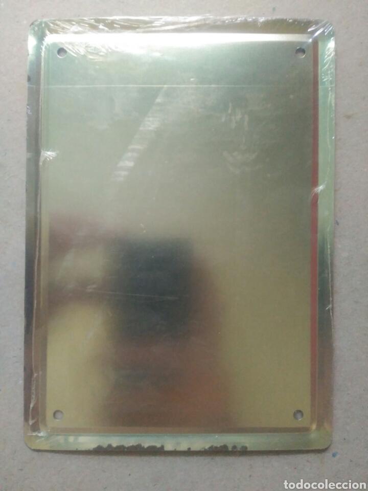 Coleccionismo: Placa metálica Ceregumil - Foto 2 - 95357490