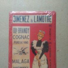 Coleccionismo: PLACA METÁLICA JIMÉNEZ & LAMOTHE. Lote 95357607