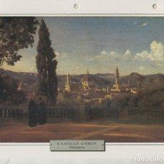 Coleccionismo: LAMINA 30: CAMILLE COROT: FLORENCIA DESDE LOS JARDINES DE BOBOLI. Lote 55496868