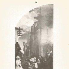 Coleccionismo: LAMINA 088: HOLBEIN. LA ADORACION DE LOS MAGOS. Lote 95716778