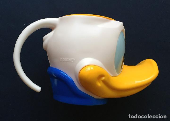 Coleccionismo: AVIDESA Recipiente Vaso Copa Helado PATO DONALD Walt Disney - Foto 2 - 95761671