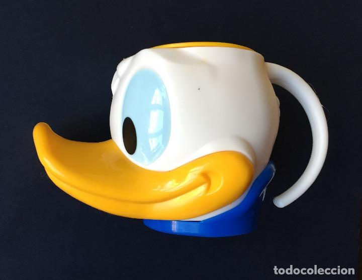 Coleccionismo: AVIDESA Recipiente Vaso Copa Helado PATO DONALD Walt Disney - Foto 3 - 95761671