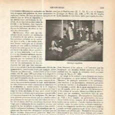 Coleccionismo: LAMINA ESPASA 17780: MENDIGOS EN ARGELIA. Lote 95879724