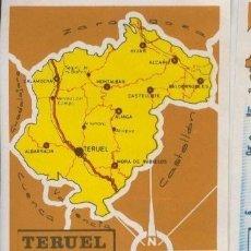 Coleccionismo: LAS PROVINCIAS DE ESPAÑA CROMO NUMERO 136: TERUEL. Lote 95912620