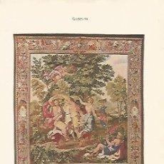 Coleccionismo: LAMINA SALVAT 80035: DANZA DE LAS NINFAS POR GOBELIN. Lote 95915500