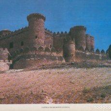 Coleccionismo: LAMINA CASTILLOS DE ESPAÑA EDICION 1967 NO.111: CASTILLO DE BELMONTE (CUENCA). Lote 95915516