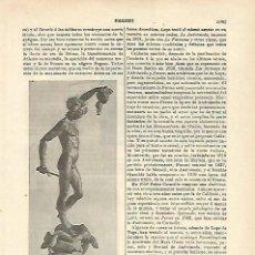 Coleccionismo: LAMINA ESPASA 15786: PERSEO POR CELLINI. Lote 95915699