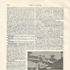 Coleccionismo: LAMINA ESPASA 21161: ESTATUA DE GARUDA EN KATMANDU. Lote 95916220