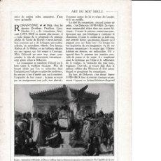 Coleccionismo: LAMINA 30198: INGRES APOTHEOSE D HOMERE. Lote 95916430