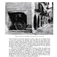 Coleccionismo: LAMINA 6466: ARTESANIA DEL SEGRE EN EL ALT URGELL. Lote 95974694