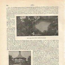 Coleccionismo: LAMINA ESPASA 12643: OJO DE AGUA EN NUEVA ISABELA REPUBLICA DOMINICANA. Lote 95974872
