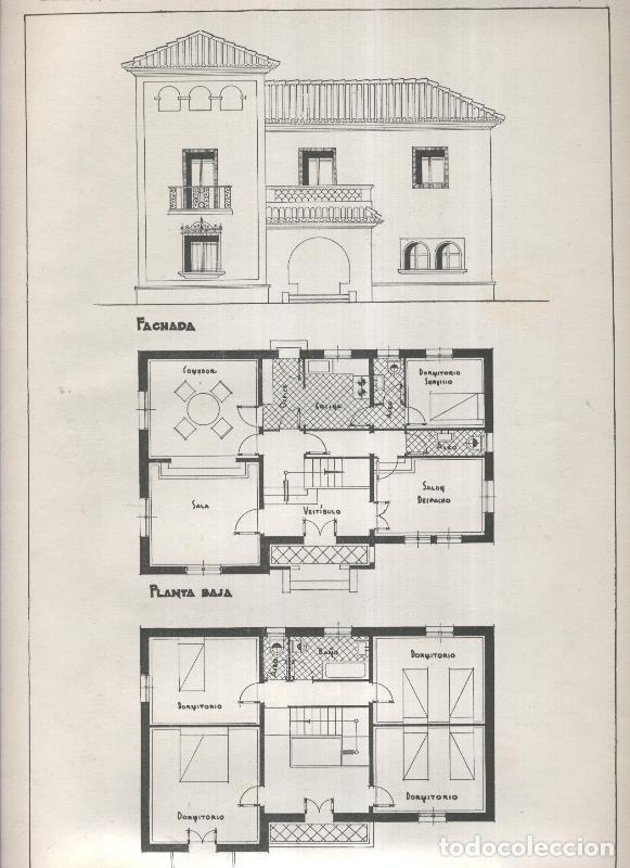 Planos modernos de villas y chalets modelo nume comprar for Planos de chalets modernos
