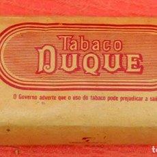 Coleccionismo: PAQUETE DE PICADURA DE TABACO DE LA MARCA DUQUE. Lote 96148911