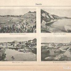Coleccionismo: LAMINA ESPASA 22221: BIARRITZ. Lote 96190236