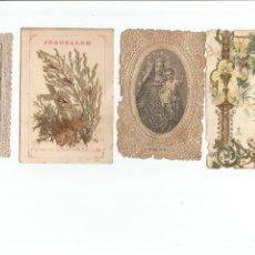 Coleccionismo: LOTE ESTAMPAS TROQUELADAS PUNTILLAS . Lote 96699679