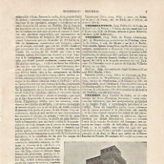 Coleccionismo - LAMINA ESPASA 20346: Castillo de Trebbio - 96726896