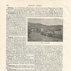 Coleccionismo - LAMINA ESPASA 9945: Vista de Albia Bilbao - 96767292