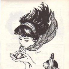 Coleccionismo: ANUNCIO PUBLICIDAD MAQUILLAJE EMBRUJO. Lote 96822267