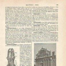 Coleccionismo: LAMINA ESPASA 20484: CATEDRAL DE TROIA ITALIA. Lote 96922546
