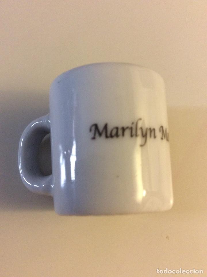 Coleccionismo: Taza miniatura marilyn monroe - Foto 2 - 97048750