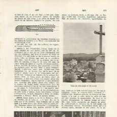 Coleccionismo: LAMINA SALVAT 80336: VISTA Y CUEVAS DE ARTA (MALLORCA). Lote 95851854