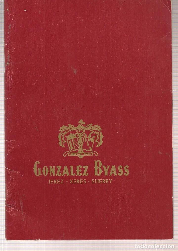 GONZALEZ BYASS. CATÁLOGO / PRESENTACIÓN (T/4) (Coleccionismo - Laminas, Programas y Otros Documentos)