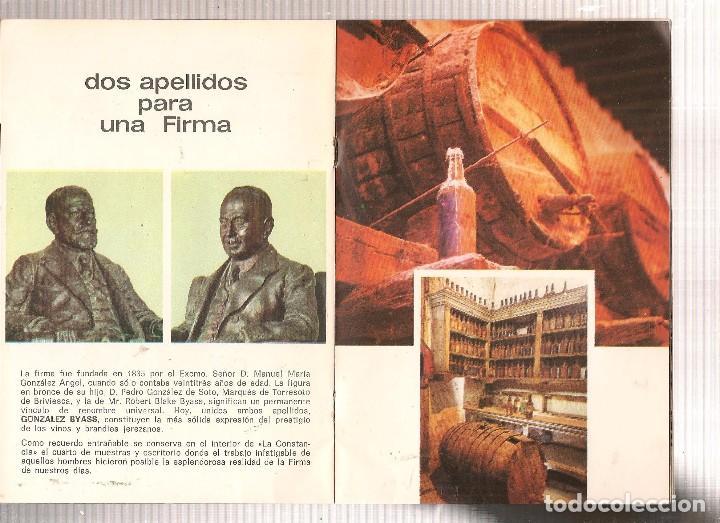 Coleccionismo: GONZALEZ BYASS. CATÁLOGO / PRESENTACIÓN (T/4) - Foto 2 - 97414587