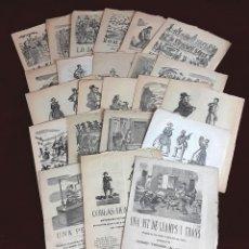 Coleccionismo: ROMANCES SIGLO XIX. 23 EJEMPLARES. CATALÀ. VARIOS AUTORES.. Lote 97670019