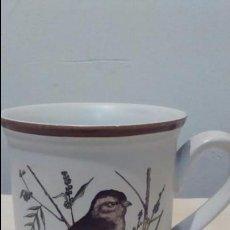 Coleccionismo: TAZA CAFÉ MONKY. PONTESA. PAJARO PINZÓN. Lote 97833879