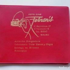 Coleccionismo: FOTO - CINE FERNAN'S / CARPETA PARA FOTOGRAFIAS / SALOU AÑOS 60 / TARRAGONA. Lote 97843155
