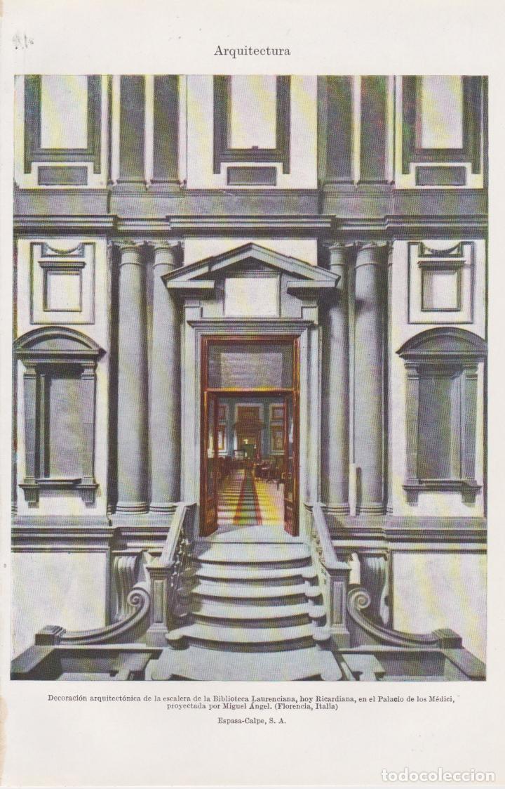 Arquitectura escalera biblioteca laurencian comprar - Arquitectura miguel angel ...