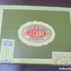 Coleccionismo: CAJA DE PUROS J:CANO HECHO EN CUBA. Lote 97916923