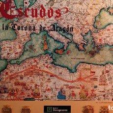 Coleccionismo: ESCUDOS DE LA CORONA DE ARAGÓN. Lote 98063567