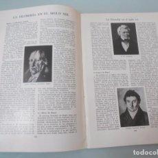 Coleccionismo: LA FILOSOFÍA EN EL SIGLO XIX - 9 PÁGINAS TEXTOS Y LAMINAS Nº 60.426 PROCEDE DE LIBRO + 70 AÑOS . Lote 98190115